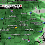 Good Morning #Indiana. Mild, dry now, soggy later, maybe some thunder! More on @WISH_TV #INwx #Indy http://t.co/k3cccXVcW5