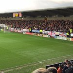 Luton Town at Burton Albion yesterday #LTFC #HATTERS http://t.co/5TOux8eAfy