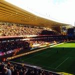 Nottingham Forest at Wolves yesterday (bottom tier) #NFFC http://t.co/76CvckBwFa