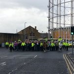 Sheffield Wednesday escort to Huddersfield Town yesterday #SWFC http://t.co/pkLsdEvYkJ