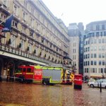 Fire is now OUT at Charing Cross station. Station will be closed for possibly another 2 hours. http://t.co/ZIl6OfEAUb