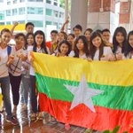 Huge support for the Myanmar team!! RT if you are supporting Myanmar today! #AFFSuzukiCup #MALvMYA http://t.co/TVn8ttkFQt
