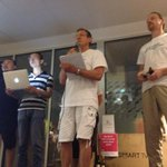 """2nd Pitch """"SBox"""" new fire/safety/personal alarm #hardware #app @StartupWeekend #SWGoldCoast #GSB2014 #startup http://t.co/rNkCEgcUxS"""