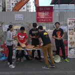 RT@inmediahk Booths set up all over #HongKong to talk w/ folks abt #UMHK #UmbrellaRevolution #UmbrellaMovement #HK http://t.co/FLSR2fq357