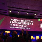 #OsloSymposium on #Afghanwomen 2 start in few mnts. Exciting 2 be among many including #AFG #FirstLady #RulaGhani http://t.co/vhvEItnA9t