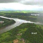 3 sınırın buluştuğu yer.. Brezilya, Arjantin, Paraguay http://t.co/Vabq1CVd2n