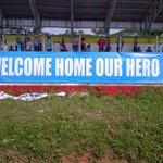 Welcome Home Our Hero http://t.co/oVCoZbfkyu