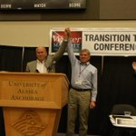 Great pic of Gov.-elect Bill Walker/Lt. Gov.-elect Byron Mallott at transition conference. #unity @walkerforakgov http://t.co/Re51sOpHDe