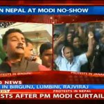Protests in Nepal as PM @narendramodi shortens his visit to Nepal. Parties urge PM not to truncate his visit #SAARC http://t.co/s3bGpkgM57