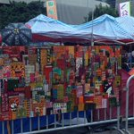 Italian paintings moved here #OccupyHK http://t.co/5Mc2huVMlQ
