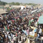 Thousands gather on the streets of Bhakkar to welcome #DrQadri as he makes his way to the Jalsa #BhakkarGoes4PAT http://t.co/rURcdoReOS