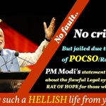 PM Modi at Sydney declares- They were happy to make laws.I am happier to remove laws #ModiSirRemoveUnfairPOCSOlaw http://t.co/UALq2bDK7L