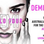 1/2 Were thrilled to announce that for the first time, @ddlovato is finally heading to Aus & NZ! #DEMIWORLDTOUR http://t.co/AGvlWOQypP
