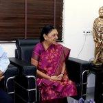 Gujarat gearing up for celebrating @vadfest from Jan 23 to 26, 2015. Met eminent music composer Shri A R Rehman http://t.co/TGJjop5YoV