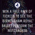 Last day to enter our #competition to win a FREE pair of tickets to The Nutcracker (2-6th Dec). FOLLOW&RT to enter! http://t.co/V8zxKpVofo