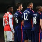 Danny Welbeck forgot who he was playing before the match yesterday. #AFC http://t.co/P5GFJaXseU