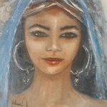 انطلقوا ف #تونس تنتظركم #رئاسة_تونس #تونس_تنتخب #اللوحة رسمتها بنت عمي الفنانةالتشكيلية عواطف البجاوي لهذه المناسبة http://t.co/UF7e3jRkpx
