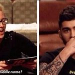 EXACTLY THIS TIME A YEAR AGO WE FOUND OUT THAT ZAYNS MIDDLE NAME IS BEYONCE #1YearOf1DDAY #MTVStars One Direction http://t.co/CsTLyVVg8q