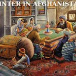 Winter in #Afghanistan… this photo tells you a complete story of winter life in most of #Afghanistan. http://t.co/zISaafk6Ip