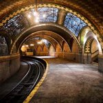 RT @OMGFacts: Abandoned New York City subway stop, built in 1904.