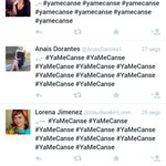 Mexico's indignation for 43 missing students hastag #YaMeCanse, in now under bot spam. A regular strategy of @EPN gov http://t.co/hoHMFkW2YE