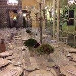 Montaje de la #cena servida anoche por La Raza #Catering en el #PalaciodeLebrija #Sevilla #eventos #gastronomía http://t.co/TbWdAqrYuH