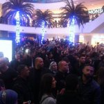 Fans cheering for the star Mohammed Assaf at The Galleria Mall #TGM #TheGalleriaMallJordan #Amman #Jordan http://t.co/90FxLKe3hW