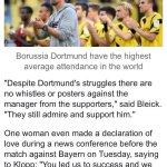 Borussia Dortmund are currently 16th in the Bundesliga - two places from the bottom. #BvB http://t.co/TPp6YPPpAl