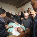 Shot in Cold Blood by Zionist Terrorist. The terror on Gaza continues from these Nazis! http://t.co/Now8HfofPf