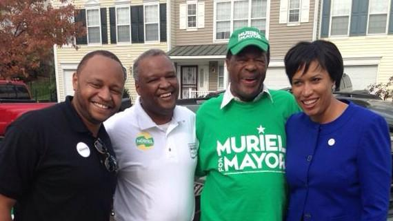 Marion Barry gave me my first job in gov't. He reminded me the last time I saw him on Election Day. #RIPMayorforLife http://t.co/VOEVF33Ty2