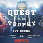#FCSPlayoffs 1st Round: Liberty at James Madison - 4 pm ET http://t.co/YuGdmbKo04