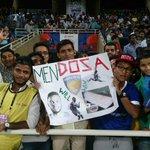 .@ChennaiyinFC fans give injured striker Stiven Mendozas name a Tamilian twist! #MUMvCHE http://t.co/8cLsJpOaTk