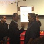Jerusalem mayor @NirBarkat and @OurCrowd s @jonmedved at Israel mobile app awards #ILApp2014 http://t.co/G35NbzRpx4