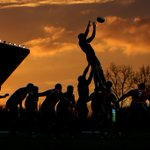 Match shot: The sunset frames a Tigers lineout at Kassam Stadium #Tigerslive http://t.co/8yuCZPmCOV
