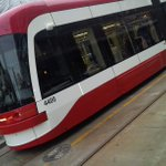 #hometownproud The red rocket rides again! Torontos streetcars define the beautiful streets of my city #topoli http://t.co/3kKso3Udvi