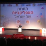 . @NirBarkat is missing his old startupists friends. An amazing event at cinema city #jerusalem #ILApp2014 http://t.co/5SDbZFYLYo