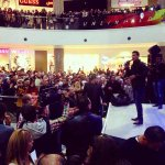 Mohammed Assaf singing at The Galleria Mall #TGM #TheGalleriaMallJordan #Amman #Jordan #MohammedAssaf #Fans #Love http://t.co/yuM6vL6tth