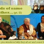 "Tarun Tejpal with @Javedakhtarjadu , @BDUTT , @mihirssharma Can we deduce ""birds of same feather flock together""? http://t.co/QnKu7fGAoU"