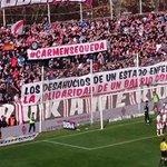 Muy orgullosas de esa afición del @RVMOficial comprometida y solidaria con sus vecinas. #CarmenSeQueda #YoSoyCarmen http://t.co/WXR0mxvUiS