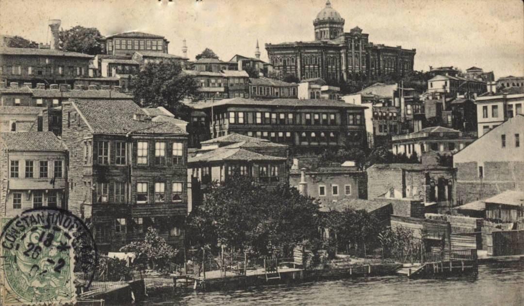 1904 yılında gönderilen bir kartpostal. #Fener #Fatih #istanbul http://t.co/m9IobHMC7Z