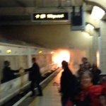 Theres been a dramatic looking fire at Charing Cross rail station; pic by @vincenzo_minore http://t.co/Y7DBZ65WlJ http://t.co/Le6fvqRvcx