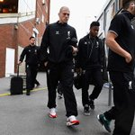 Liverpool players arriving at Selhurst Park today for the game with Crystal Palace. #LFC #CRYLIV http://t.co/EqzJT5HVQ7