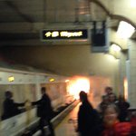 A fire has broken out at Charing Cross station in London: http://t.co/rkSRoXlz18 (h/t @vincenzo_minore) http://t.co/JDpBUZYhUI
