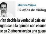 32 años de diálogos Si NO HAY AVANCES deberían decirle la verdad al país http://t.co/LHKij5t6wm vía @ELTIEMPO http://t.co/szFOLAKMAP