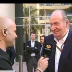 """El rey Juan Carlos I en directo: """"Fernando Alonso me ha dicho que va a McLaren"""" #A3F1AbuDabi http://t.co/a8ZCCL7ORQ http://t.co/mzDNEOCDi3"""