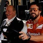 El Rey no se guarda el secreto y cuenta en directo dónde correrá Fernando Alonso en 2015 http://t.co/0f5dU5Zehz #F1 http://t.co/W3QQjYs1Nf