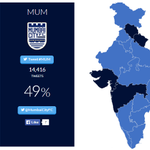 Looks like India is feeling rather blue today, isnt it? #CHE #LetsFootball http://t.co/3QQL6PowyW