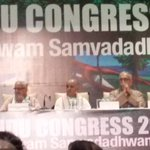 VHP World Hindu Congress-Delhi -today to present VHPs Golden Vision 2025&Beyond. 1500 Delegates from 40+ countries http://t.co/IVCgPETt6E