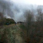 Δεν είναι ομίχλη, ούτε σύννεφα βροχής, είναι δακρυγόνα και χημικά #skouries via @alterthess http://t.co/BVCJ6xsHeN