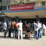 Deputy President to issue a major statement relating to Mandera Attack . journalists waiting. http://t.co/8wvAsNBcEe
